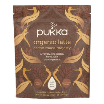 Pukka Herbal Teas - Latte Cacao Maca Mjty - Case of 4 - 2.65 OZ