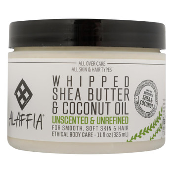 Alaffia - Cream Shea Coconut Unscnt - 1 Each - 11 OZ
