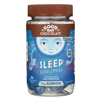 Good Day Chocolate - Chocolate Supp Sleep - 1 Each - 80 CT
