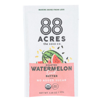 88 Acres - Butter Seed Watermelon Sugar Free - Case of 10 - 1.16 OZ