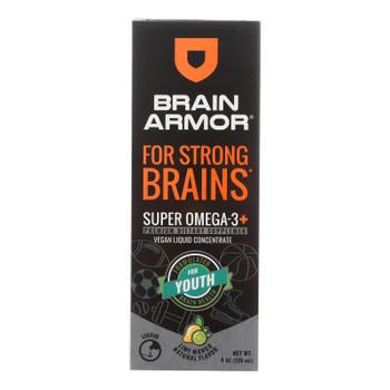 Brain Armor - Super Omgea3 Yth Lme Mango - 1 Each - 4 FZ
