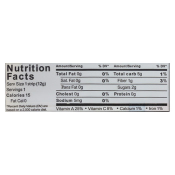 Fruity Berry Apple + Spinach Veggie-Go'S Strips  - Case of 20 - .42 OZ