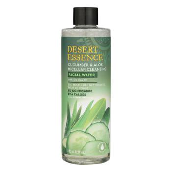 Desert Essence - Mclr Clnsg Fcl Water Cu/alo - 1 Each - 8 FZ
