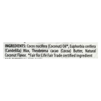 Alaffia Purely Coconut Lip Balm  - Case of 24 - .15 OZ