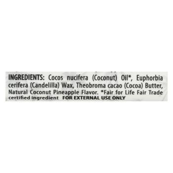 Alaffia CoconutPineapple Lip Balm  - Case of 24 - .15 OZ