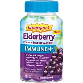 Emergen-c - Immune + Gummies Eldbry - 1 Each - 45 CT