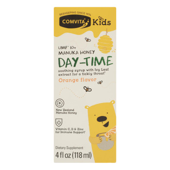 Comvita - Kd Sth Syrup Day Orange Mhny - 1 Each - 4 FZ