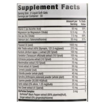 Irwin Naturals - Liver Detox Blood Refresh - 1 Each - 60 SGEL