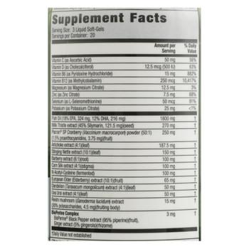 Irwin Naturals - Kidney&liver Cleanse 2in1 - 1 Each - 60 SGEL