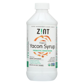 Zint Organic Yacon Syrup  - 1 Each - 8 FZ