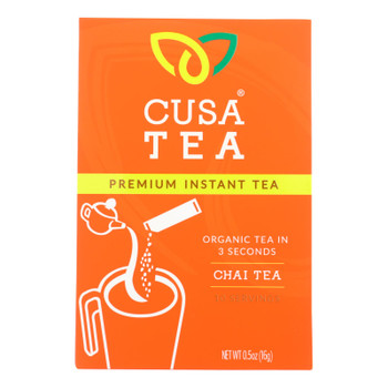 Cusa Tea - Tea Chai - Case of 6 - .4 OZ