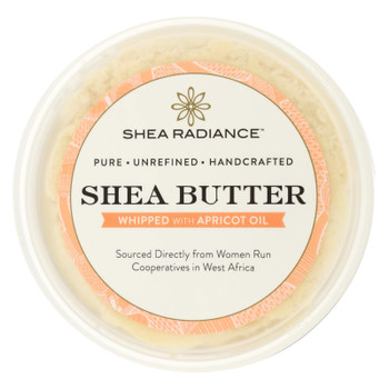 Shea Radiance Whipped Shea Butter With Apricot Oil  - 1 Each - 9.5 OZ