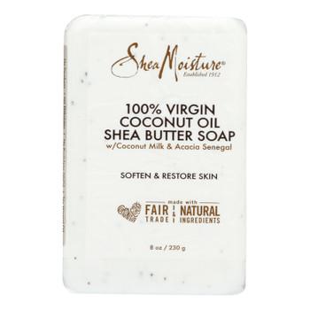 Shea Moisture - Bar Soap 100% Vr Coconut Oil - 1 Each - 8 OZ