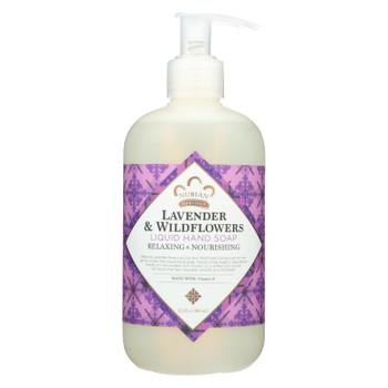 Nubian Heritage - Hand Soap Liquid Lavender & Wldfl - 1 Each - 12.3 FZ