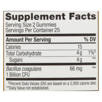 Olly - Supp Probiotic Tropical Mango - 1 Each - 50 CT