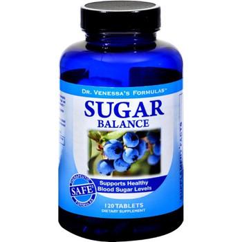 Dr. Venessa's Formulas - Sugar Balance Support - 1 Each - 120 TAB