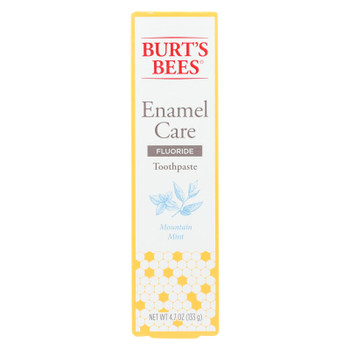 Burts Bees - Toothpste Enaml Care Mint - 1 Each - 4.7 OZ