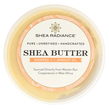 Shea Radiance Whipped Shea Butter With Apricot Oil  - 1 Each - 5 OZ