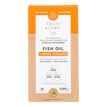 Aqua Biome - Fish Oil Meriva Curcumin - 1 Each - 60 CT