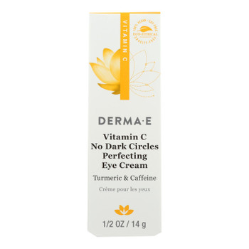 Derma E - Eye Cream Vitamin C Dark Circles - 1 Each - .5 OZ