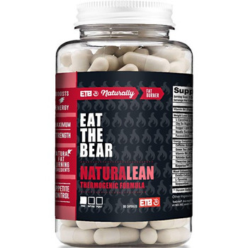 Eat The Bear - Naturalean Fat Burner - 1 Each - 90 CAP