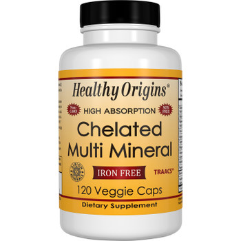 Healthy Origins - Multi Mineral Chelated - 1 Each - 120 VCAP