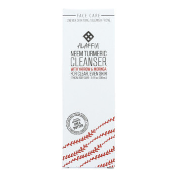 Alaffia - Cleanser Neem Turmeric - 1 Each - 3.4 FZ