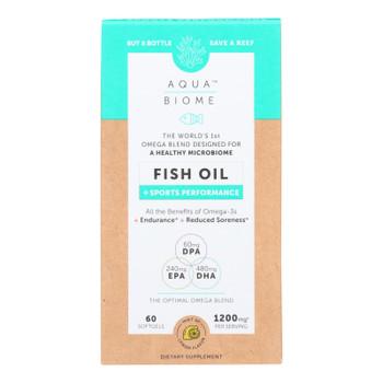 Aqua Biome - Fish Oil Sports Perfrmnce - 1 Each - 60 CT
