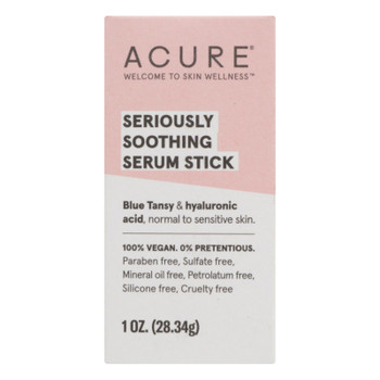 Acure - Serum Stk Serious Soothe - 1 OZ