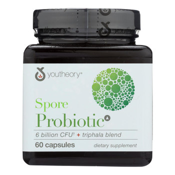 Youtheory - Spore Probiotic Advanced - 1 Each - 60 CT