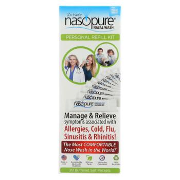 Dr. Hana'S Nasopure Nasal Wash Personal Refill Kit  - 1 Each - 20 CT