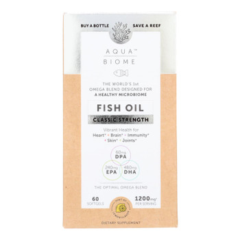Aqua Biome - Fish Oil Classic Strength - 1 Each - 60 CT