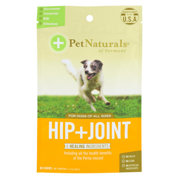 Pet Naturals Of Vermont Hip + Joint Dog Chews  - 1 Each - 60 CT
