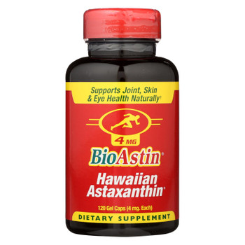 Bioastin 4Mg Astaxanthin Microalgae  - 1 Each - 120 CAP