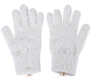 Cleanlogic - Bath Gloves Exfoliating - 2 CT
