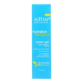 Alba Botanica - Hydrtn Sen Water Gel Spf18 - 1 Each - 2 FZ