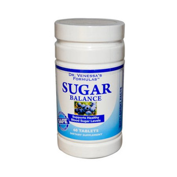 Dr. Venessa's Formulas - Sugar Balance Support - 1 Each - 60 TAB