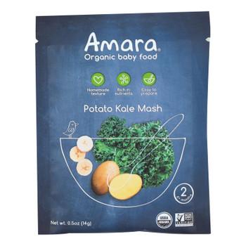 Amara - Baby Food Potato Kale - Case of 7 - .5 OZ
