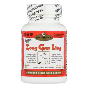 Dr. Shen's - Zong Gan Ling Severe Flu - 1 Each - 90 TAB