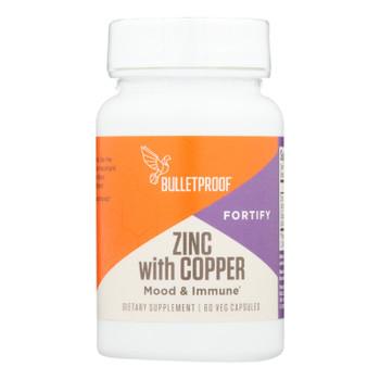Bulletproof - Zinc W/copper - 1 Each - 60 VCAP