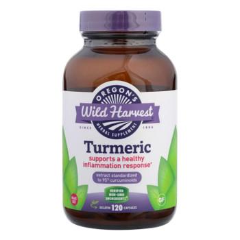 Oregon's Wild Harvest Turmeric Herbal Supplement  - 1 Each - 120 VCAP