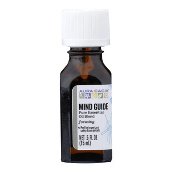 Aura Cacia - Ess Oil Mind Guide - 1 Each - .5 FZ
