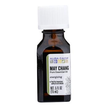 Aura Cacia - Ess Oil May Chang - 1 Each - .5 FZ