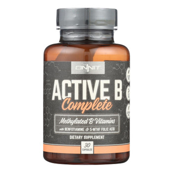 Onnit Labs - Vitamin Active B Complex - 1 Each - 30 CT