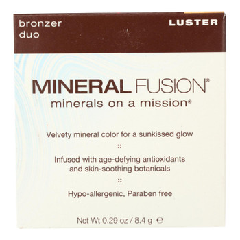 Mineral Fusion Luster Bronzer Duo  - 1 Each - .29 OZ