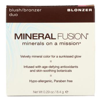 Mineral Fusion Blush/Bronzer Duo In Blonzer  - 1 Each - .29 OZ