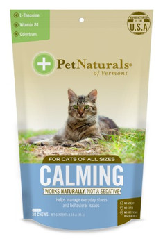 Pet Naturals Of Vermont - Calming Chew Cats - 1 Each - 30 CT