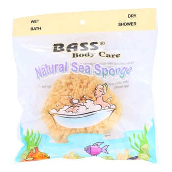 Bass Body Care Natural Sea Sponge  - 1 Each - CT