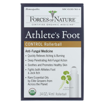 Forces Of Nature - Athltes Ft Anitfungal - 1 Each - 4 ML