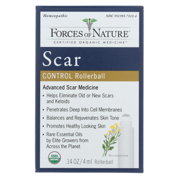 Forces Of Nature - Scar Control Advanced - 1 Each - 4 ML